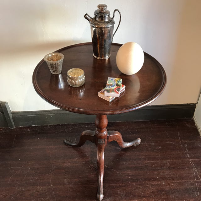 19th C. Tilt-Top Table - Image 4 of 11