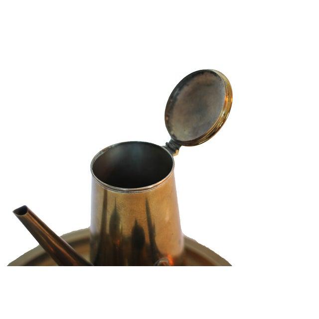 Vintage Japanese Brass Tea Set - Image 4 of 4