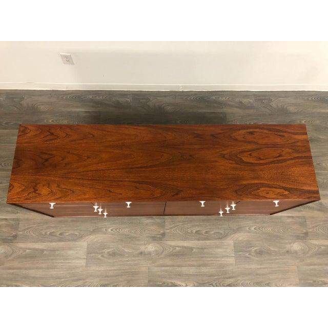 Herman Miller George Nelson for Herman Miller Thin Edge Teak Dresser For Sale - Image 4 of 12