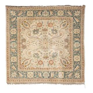 Elegant Square Hand Made Egyptian Carpet For Sale