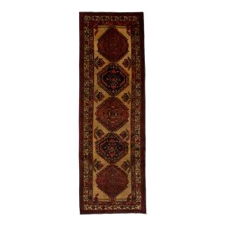 "Ardabil, Vintage Persian Rug, 3'6"" x 10'8"" feet"