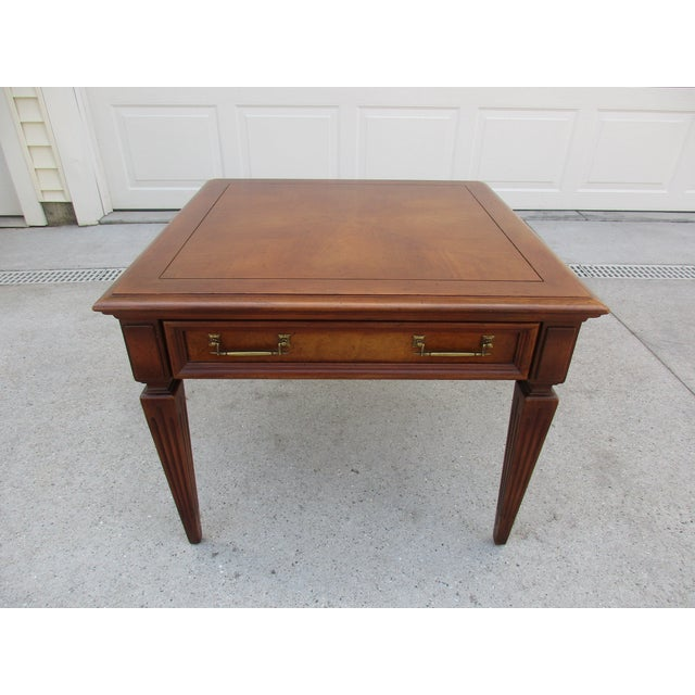 Mid-Century Modern Fine Arts Furniture Company Side Table For Sale - Image 11 of 11