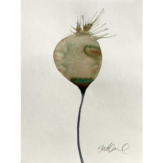 """""""Botanical Bulb"""" Watercolor Painting For Sale"""