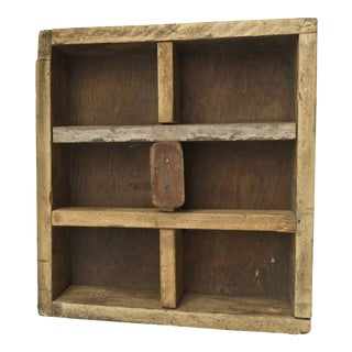 Vintage Wooden Display Box For Sale
