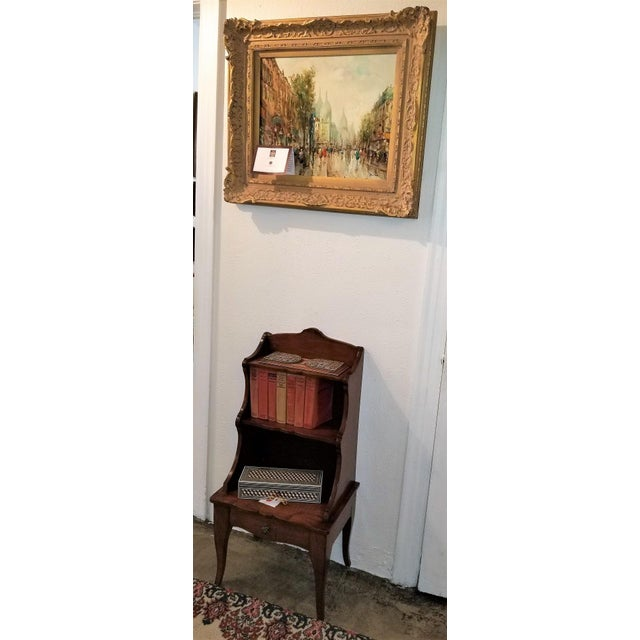 Brown 18th Century French Country Cherrywood Side Table or Open Case For Sale - Image 8 of 11