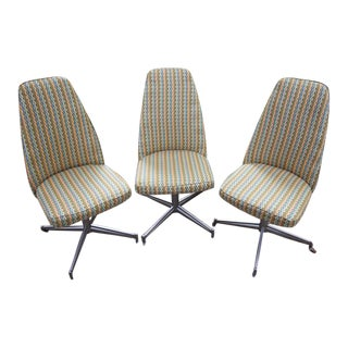 1960s Bucket Chairs - Set of 3