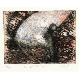 MC Havel, Abstract Etching - La Dernière Porte (The Last Door) For Sale