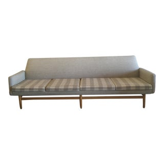 1960s Mid-Century Dux Tan Sofa For Sale