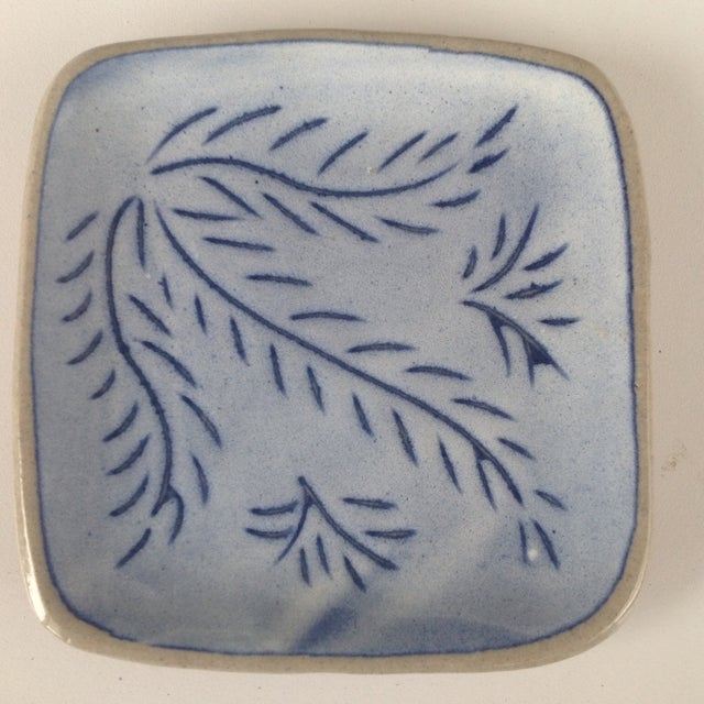 Blue Glidden Pottery Pin Trays, 1961 - Image 3 of 7