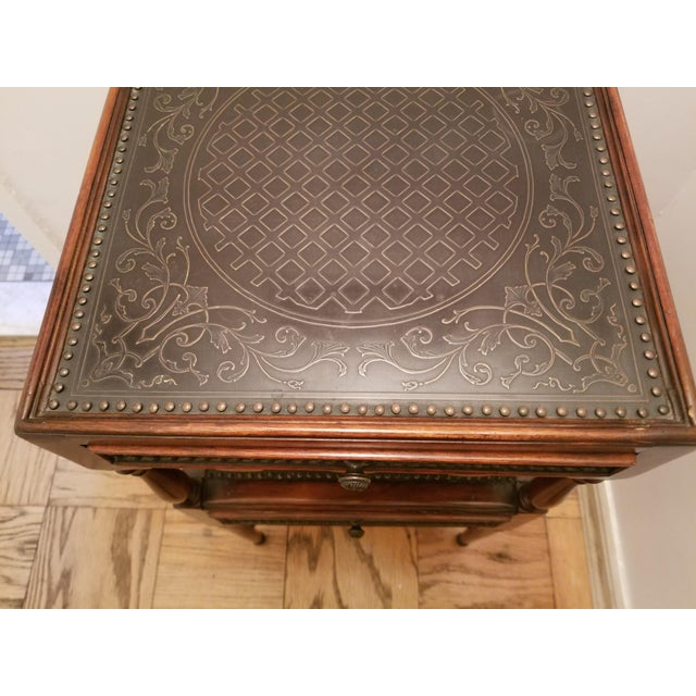 Asian Antique Theodore Alexander Side Table For Sale In New York - Image 6 of 8