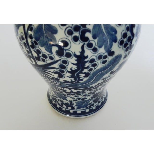 Phoenix Tall Flared Porcelain Vase For Sale In Monterey, CA - Image 6 of 9