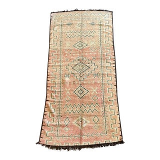 1970s Moroccan Boujaad Rug-4′3″ × 9′6″ For Sale