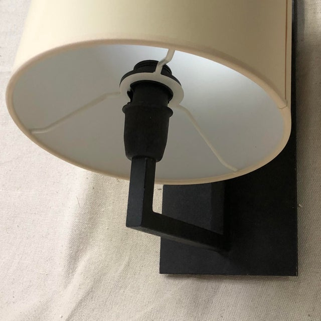 Metal Ian K. Fowler for Visual Comfort Aspen Iron Wall Lamp For Sale - Image 7 of 8