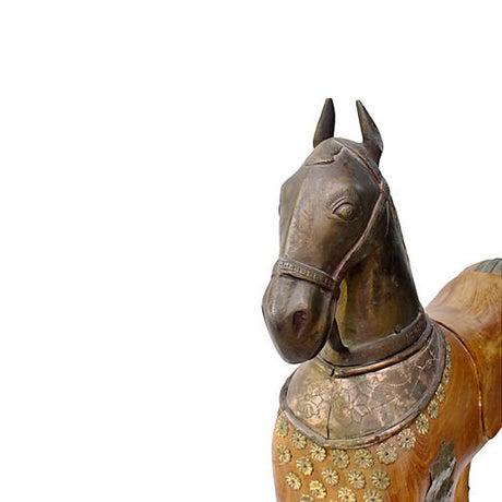 Mughal Maharaja Centerpiece Statue - Image 4 of 4