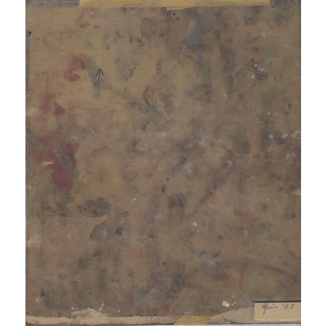 Vintage Bill Geiss Color Abstract c.1963 - Image 2 of 2
