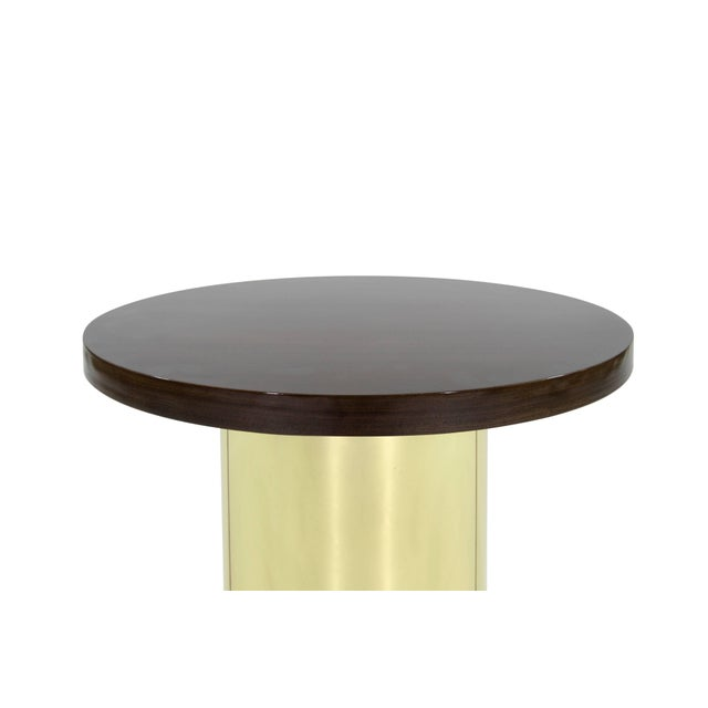 Curtis Jere Brass Pedestal by Curtis Jere For Sale - Image 4 of 8