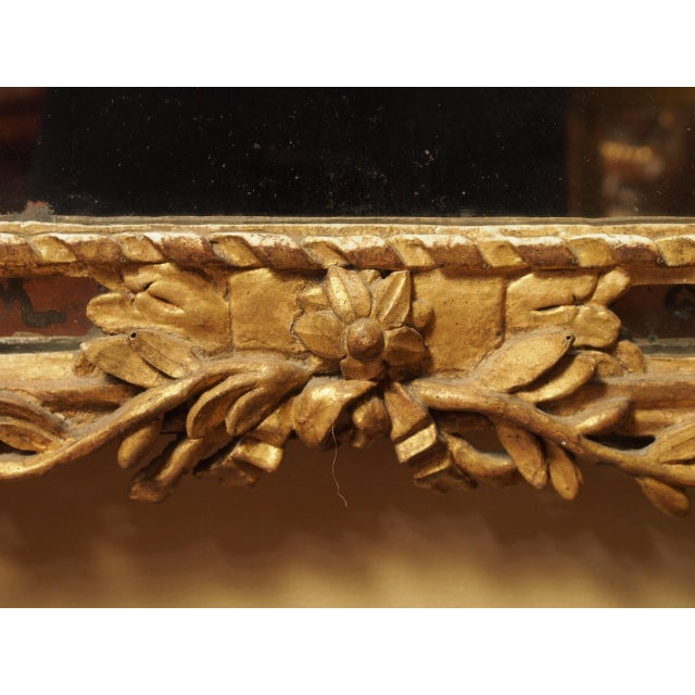 Epoch Louis XVI Gilt Wood Mirror For Sale In New Orleans - Image 6 of 9
