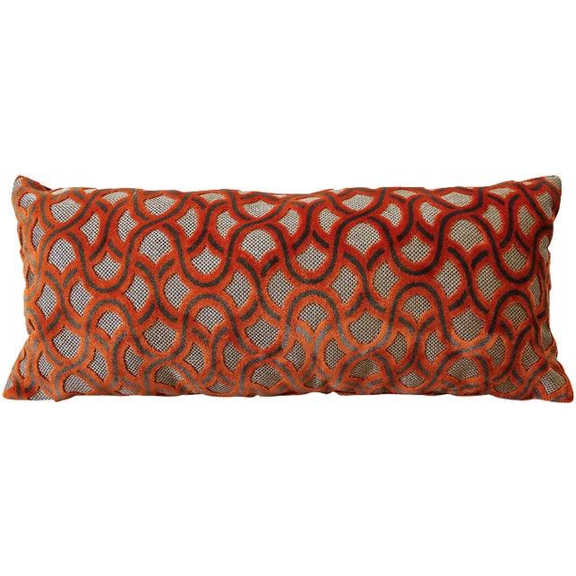 Orange Cowtan Tout Astrid Pillow - Image 1 of 4