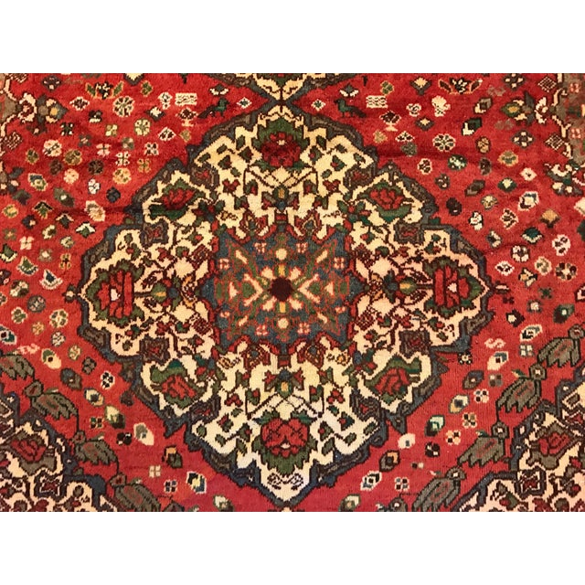 Large Hand Knotted Persian Rug - 6'11x10'0 - Image 7 of 11