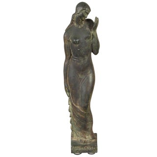 Gladys Lewis Bush Bronze Sculpture For Sale
