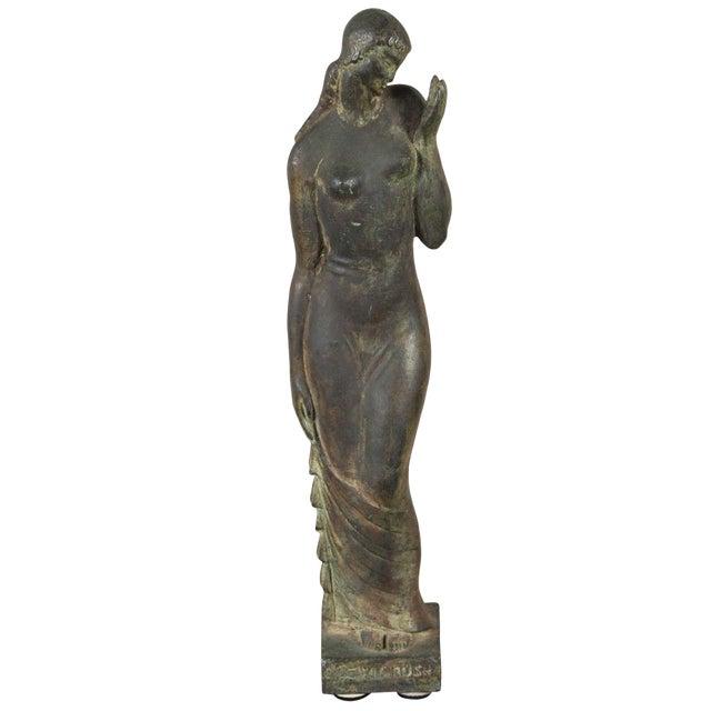 Gladys Lewis Bush Bronze Sculpture For Sale