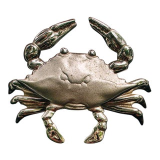 Blue Crab Door Knocker