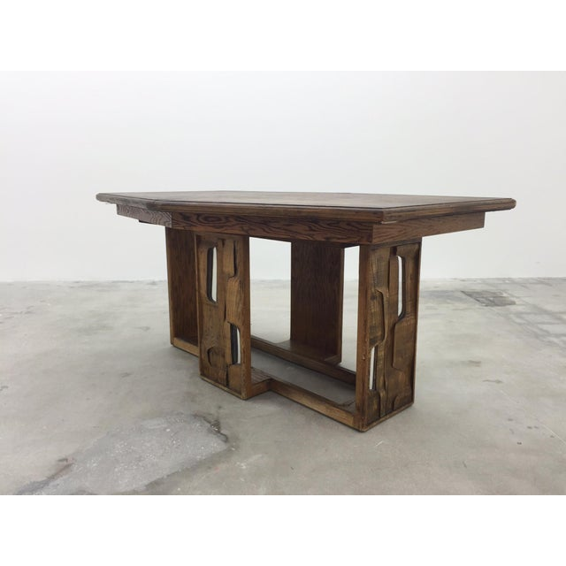 Brutalist Dining Table - Image 2 of 7