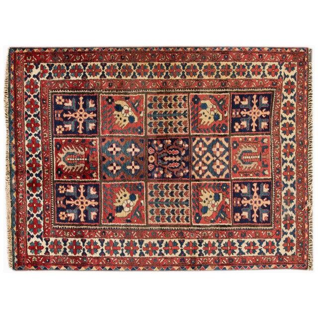 """Vintage Apadana Persian Rug - 4'10"""" X 6'7"""" - Image 1 of 3"""