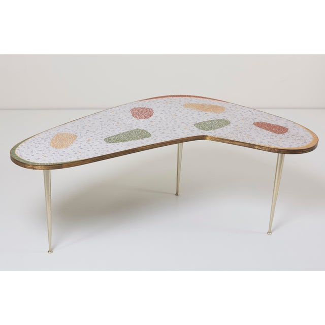 Vintage Boomerang Coffee Table by Berthold Müller For Sale - Image 11 of 11