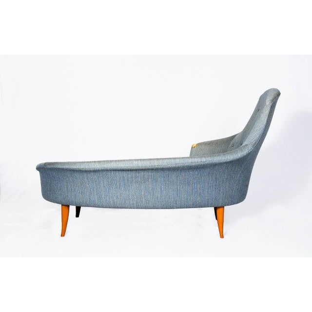 1950s Kerstin Hörlin-Holmquist Chaise Longue For Sale - Image 5 of 10