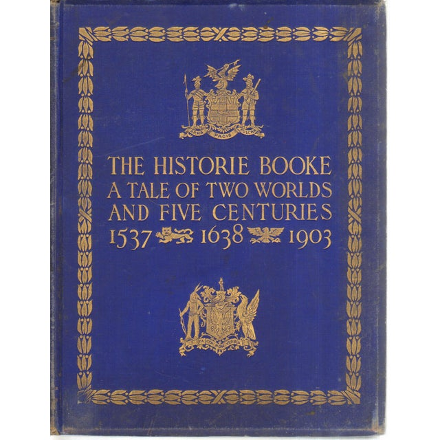 """""""The Historie Booke"""" - Tale of Two Worlds, 1st Ed. - Image 1 of 3"""
