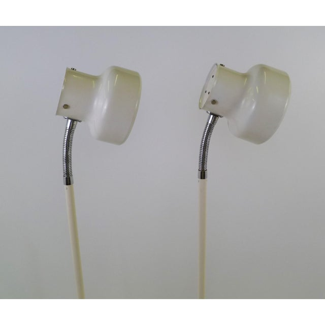 """Mid-Century Modern Pair of Anders Pehrsson """"Bumling"""" Floor Lamps for Atelje Lyktan For Sale - Image 3 of 12"""