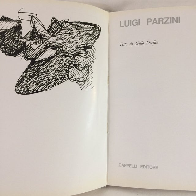 Text in English by Gillo Dorfles. Bologna, Italy: Cappelli Editore, 1963. First edition hardcover, illustrated in color...