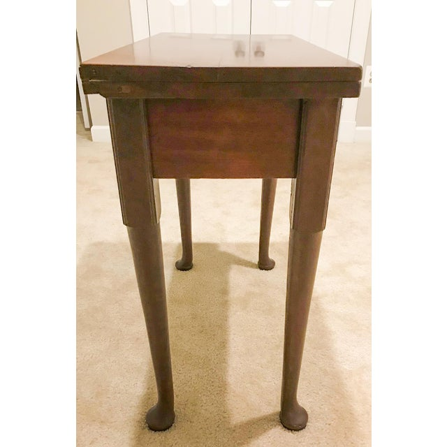 Mid 18th Century 18th Century George II Mahogany Card Table For Sale - Image 5 of 13