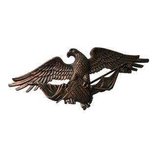 Vintage Federal Eagle Wall Decor For Sale