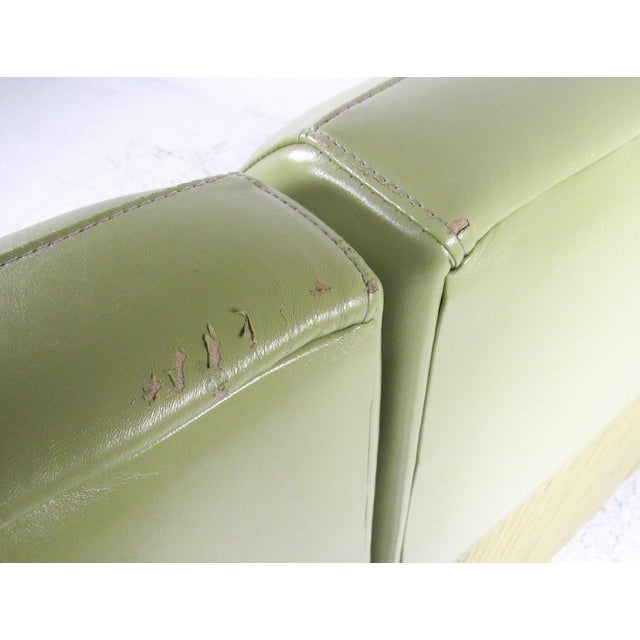 Stylish Modern Booth Style Sofa For Sale - Image 10 of 13