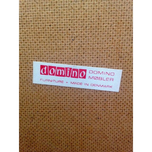 Wood Mid-Century Modern Domino Mobler Denmark Teak Credenza For Sale - Image 7 of 8