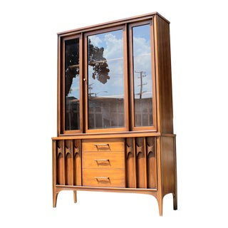 1960's Mid Century China Display Cabinet For Sale