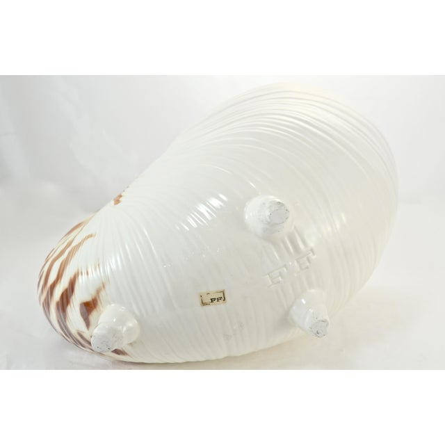 Ceramic Nautilus Shell Bowl For Sale - Image 7 of 8