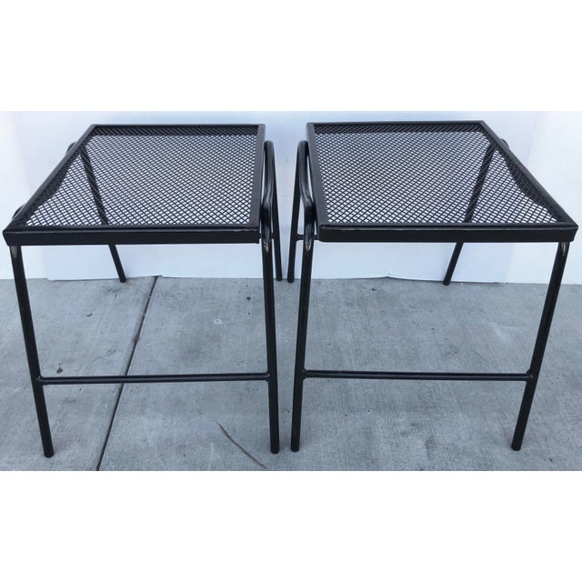 Mid-Century Modern Side Tables - a Pair For Sale In Miami - Image 6 of 8