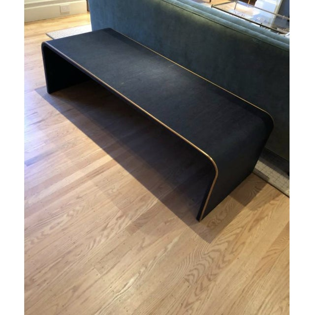 American Classical Serena & Lily Sea Grass Coffee Table For Sale - Image 3 of 3