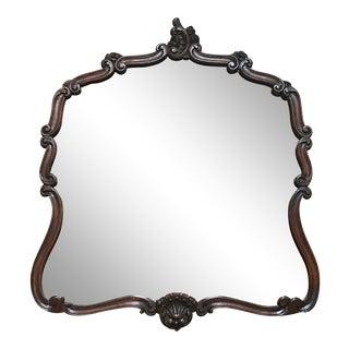 French Rococo Style Frame Mirror For Sale