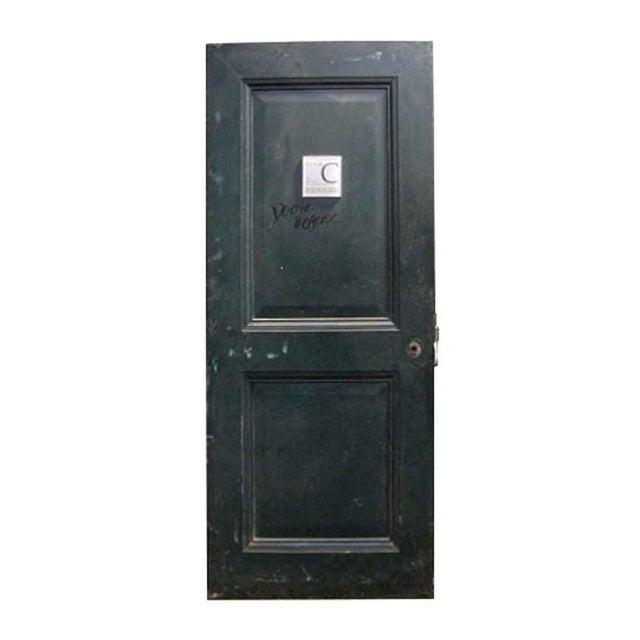 Reclaimed Metal Two Panel Fire Door - Image 5 of 5