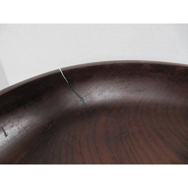 Vintage Brazilian Wood Bowl For Sale - Image 5 of 8