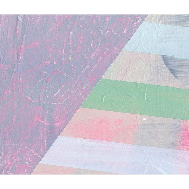 NY15 #17 Original Geometric Painting - Image 4 of 6