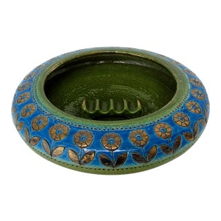 Vintage Bitossi Ceramic Ashtray For Sale