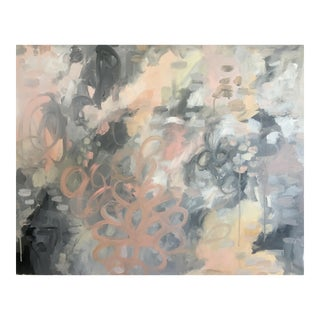 Abstract Expressionist Large Painting on Canvas by Kelly Witmer
