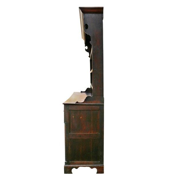 George III Oak Welsh Dresser For Sale - Image 9 of 11