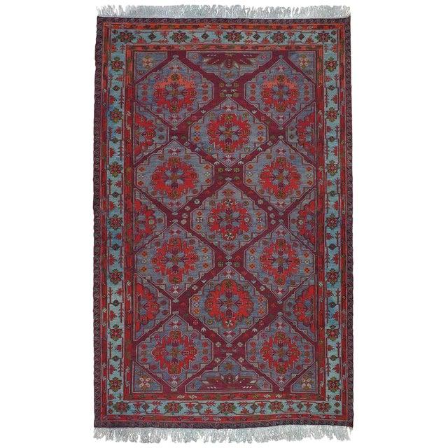 Caucasian Sumak Carpet For Sale