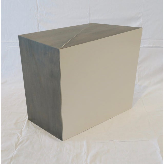 Triangle Side Tables - A Pair - Image 2 of 8